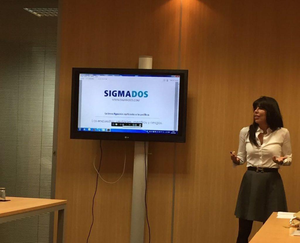Presentation by Rosa Maria Diaz Fernandez, a director od Sigma Dos