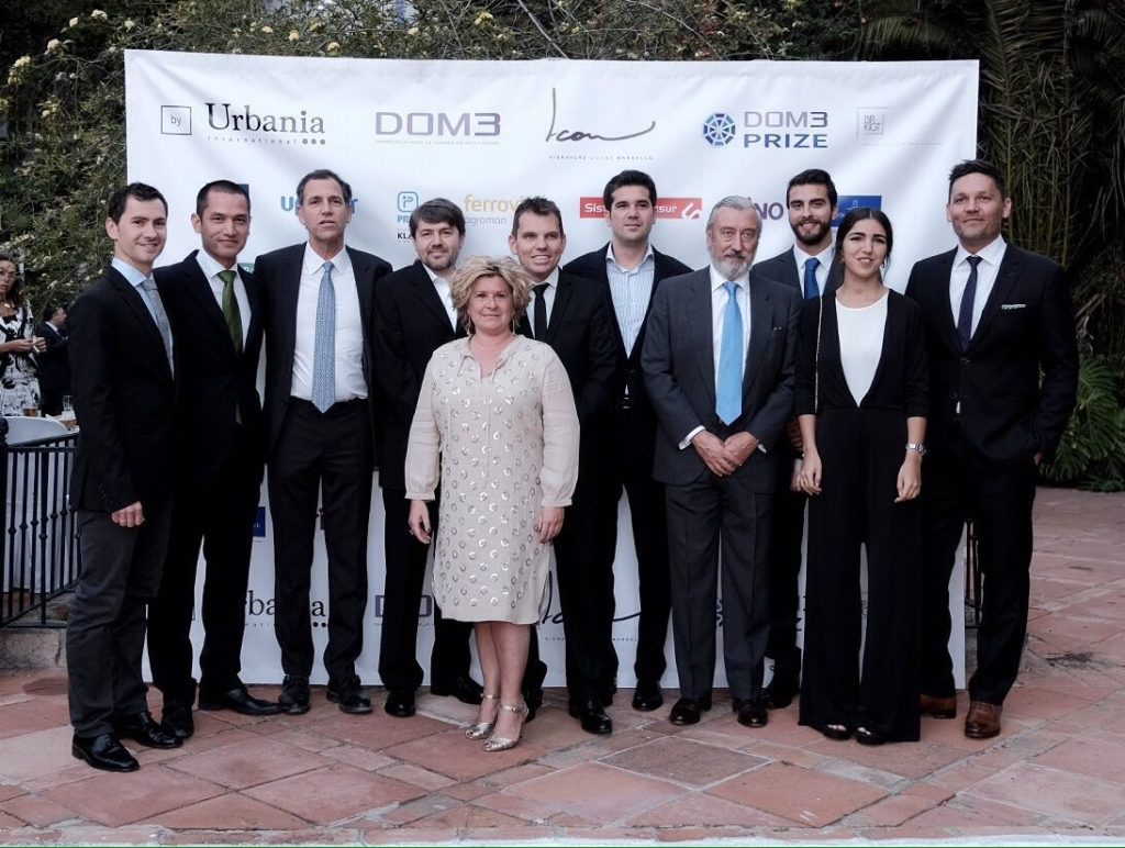 """The """"Community by design"""" project designed by the architectural studio in Marbella directed by Belgian architect David Tuan, wins the DOM3 Prize 2016"""