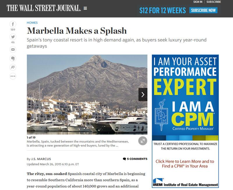 Marbella is in high demand again as buyers seek luxury year-round getaways